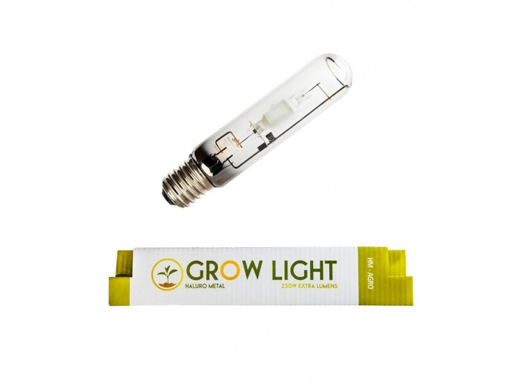 Ampolleta 250W Haluro Metal Grow Genetics para cultivo indoor