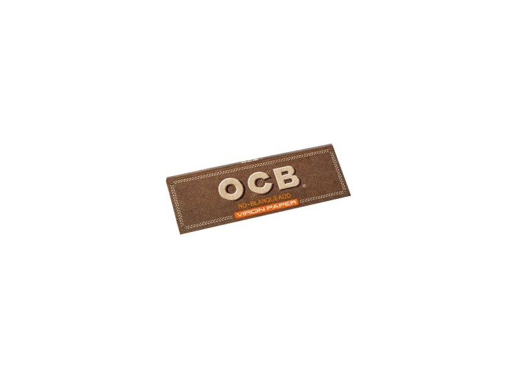 Papelillo Ocb Virgin Unbleached 1 1/4 para cultivo indoor